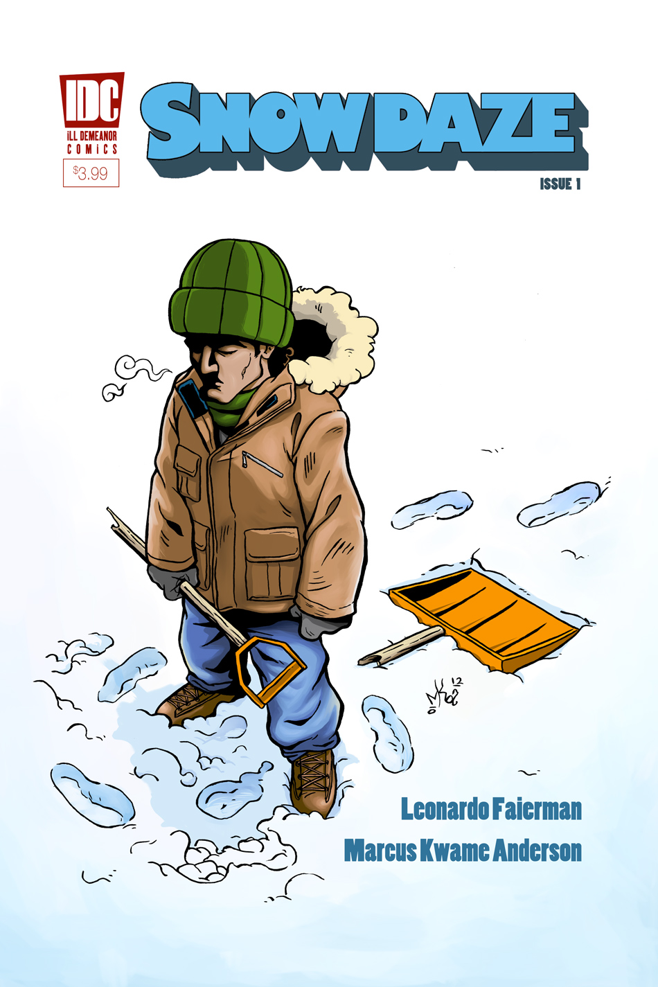 Snow Daze #1, Cover