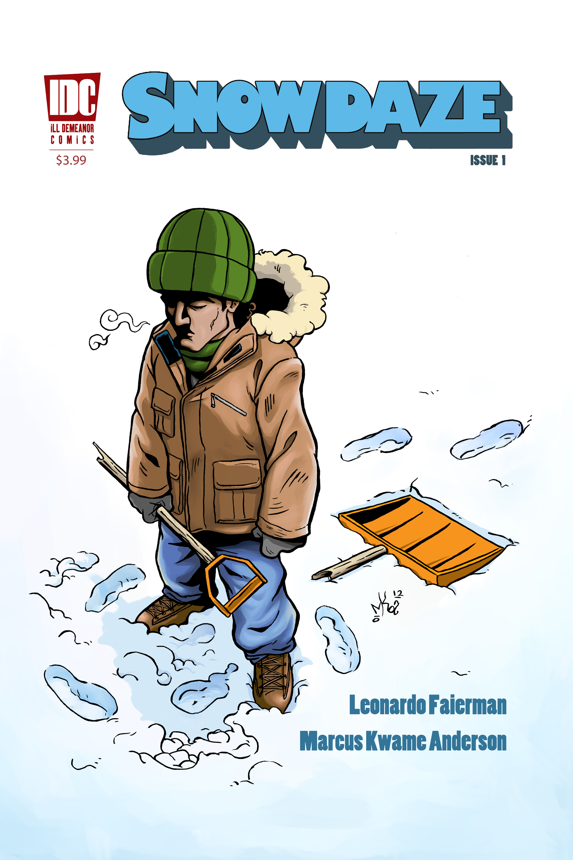 Snow Daze Front Cover